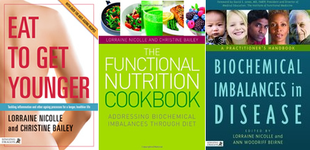 Nutrition Books by Lorraine Nicolle